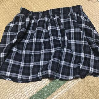 チェック柄 スカート