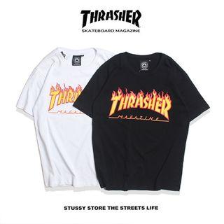 人気美品 THRASHER(スラッシャー)Tシャツth-04