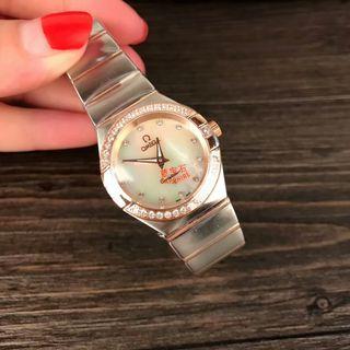 新品大人気 OMEGA クォーツ 腕時計 送料無料