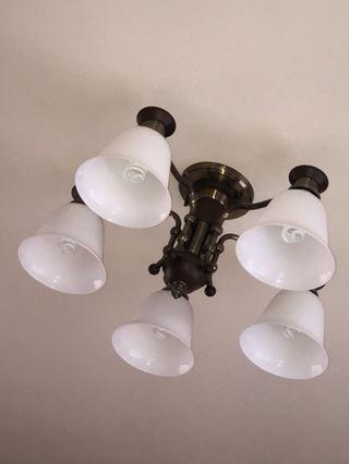 アンティーク風 照明器具 電気