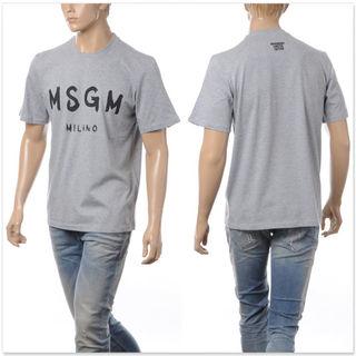 MSGM エムエスジーエム クルーネックTシャツ メンズ