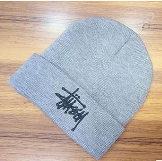 超人気★ ニット 帽子 男女兼用 2色A-024