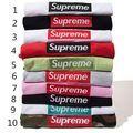 2着4800円高品質新品シュプリームTシャツ刺繍男女兼用9色
