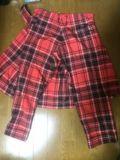 リミフゥ 巻きスカート付パンツ