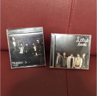 嵐 Monster Lotus CD+DVD 初回