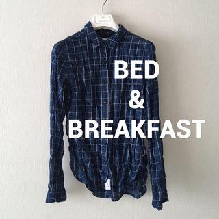 BED&BREAKFASTシワ加工シャツ