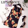 LIP SERVICEリップサービスバックレースフラワー