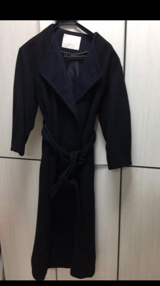 ノーカラー   ロングコート