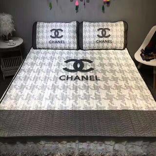 夏用 敷きパッド  枕カバー3点セット丸洗いOK