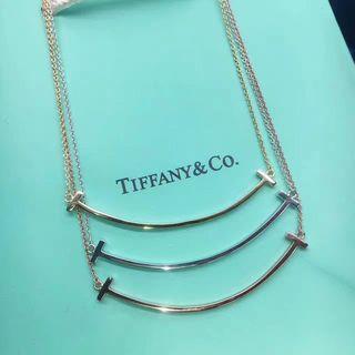 国内発送TiffanyティファニーSmileネックレス