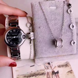 3点Cartier腕時計ブルガリブレス ネックレス