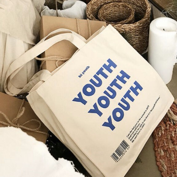 YOUTH YOUTH YOUTH トートバッグ