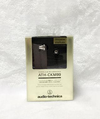 audio-technica ATH-CKM99イヤホン新品