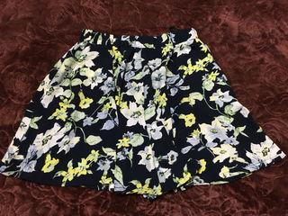 アベイル花柄キュロットスカート