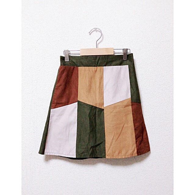 秋冬スカート