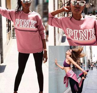 pinkロゴトップス