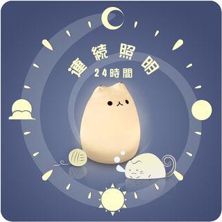 ☆萌えニャンコ呼吸ランプ☆