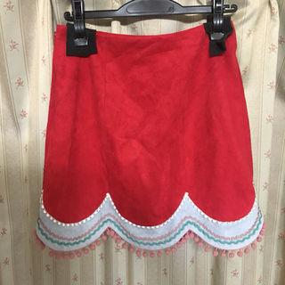 Lily Brown 台形切り替えスカート