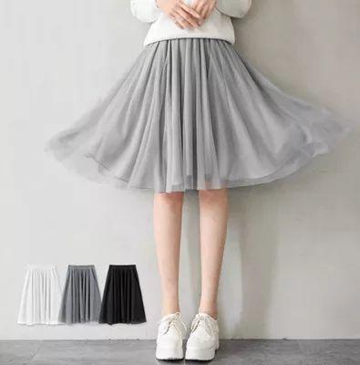 残り僅か!!!チュールが大人可愛いチュール スカート
