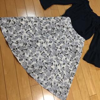 マジェスティックレゴン花柄スカート