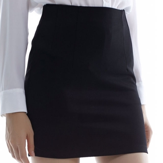 黒 Mサイズ 美脚 パンツ付き 美尻 スカート - フリマアプリ&サイトShoppies[ショッピーズ]