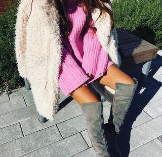 大人気商品在庫1点限りCollar Fur Coat