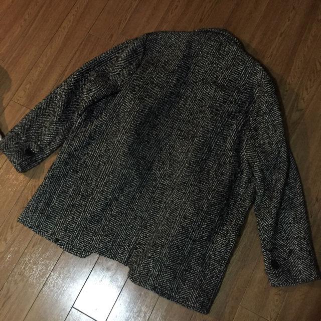 MANGO ツイードコート