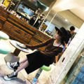 【黒/M】タイトスカート フロントファスナーペンシルスカート