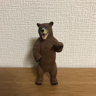 クマのフィギュア(組み立て式)