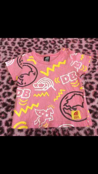 200円 DREAM BABYS*ロゴTシャツ80