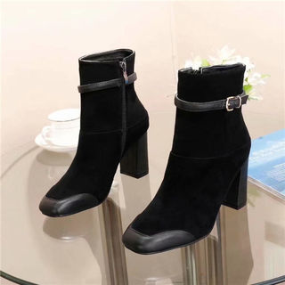 新入荷 シャネル 靴 ブーツ 革