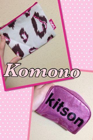 kitson、x-girlポーチ