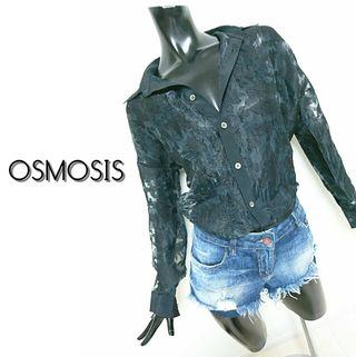 osmosis*オーガンジーシャツ