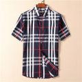 バーバリー人気新品メンズおしゃれシャツ半袖 ブラウス