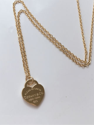 Tiffany 18k ゴールドネックレス