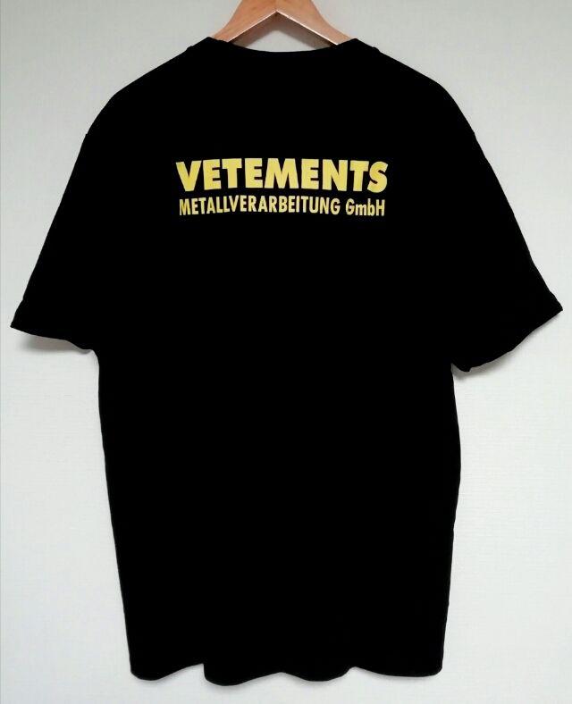 VETEMENTS オーバーサイズ tシャツ 半袖(VETEMENTS(ヴェトモン) ) - フリマアプリ&サイトShoppies[ショッピーズ]