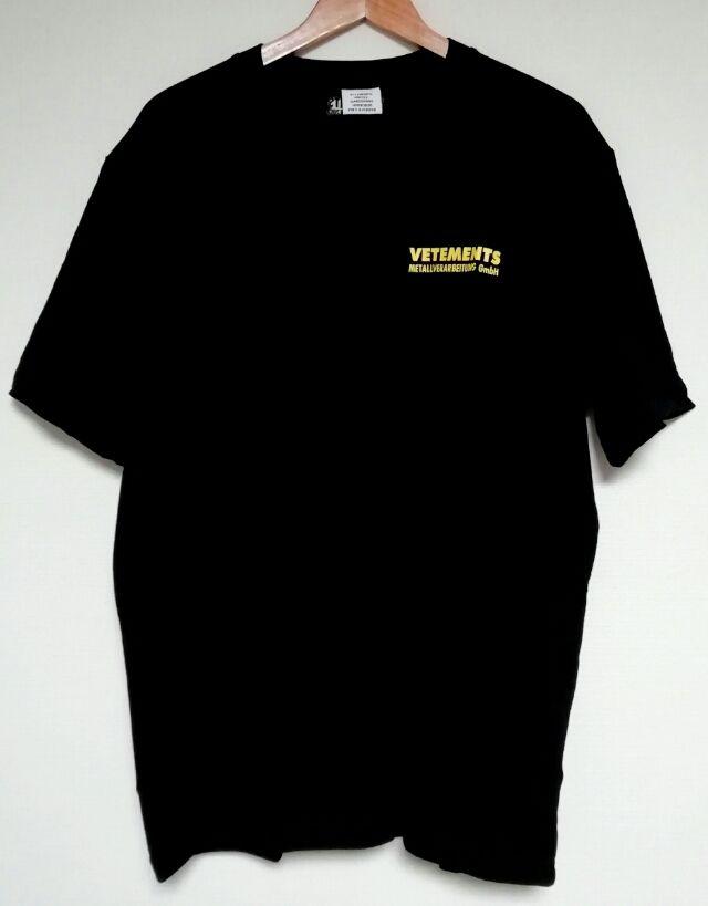 VETEMENTS オーバーサイズ tシャツ 半袖