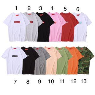 2着セット4800!人気品  カップル刺繍Tシャツ