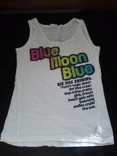 タンクトップ/BLUE MOON BLUE