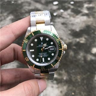 ロレックスROLEXブマリーナーグリンコンビ腕時計