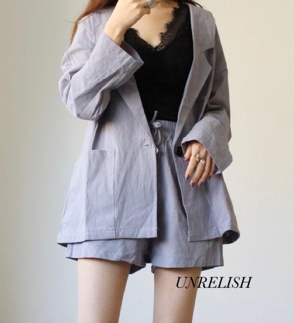 新品 UNRELISH ジャケットセットアップ(UNRELISH(アンレリッシュ) ) - フリマアプリ&サイトShoppies[ショッピーズ]