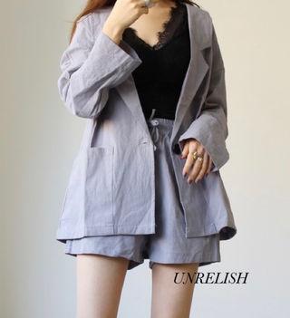 新品 UNRELISH ジャケットセットアップ