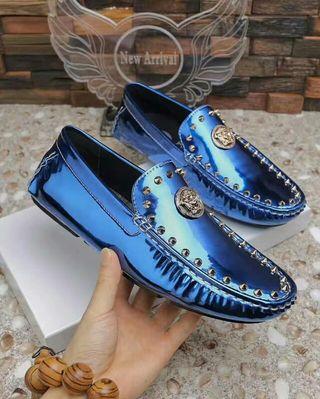 ベルサーチ  Versace   大人気 新品 革靴