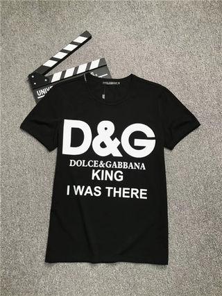 送料無料 D&G新品Tシャツ