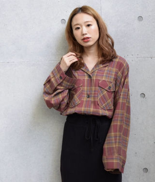 w closet開襟ルーズシャツ