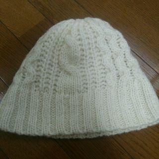 新品 サロンドバルコニー ニット帽 モヘア  ワッチ 帽子