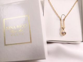 NINA RICCI ゴールド×シルバー ネックレス