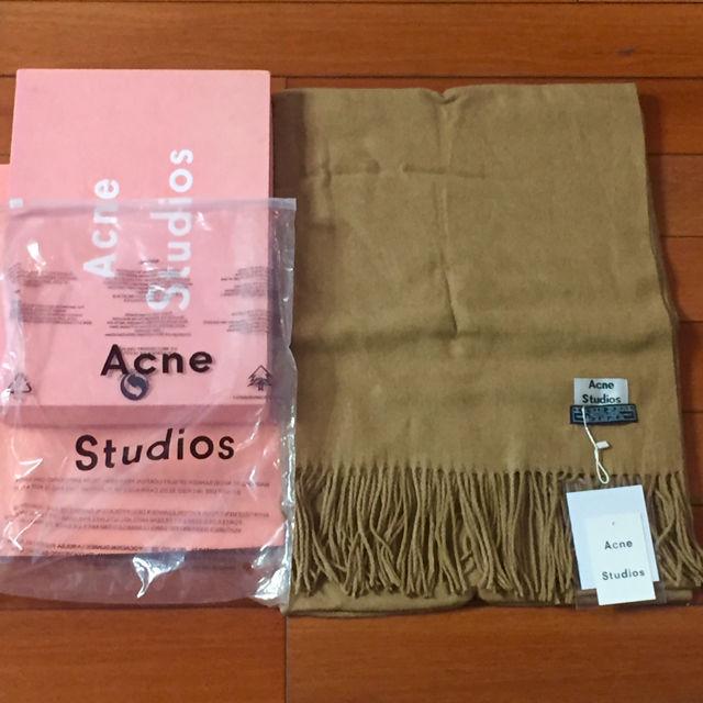 acne studios マフラーキャメル(agnes b.(アニエスベー) ) - フリマアプリ&サイトShoppies[ショッピーズ]