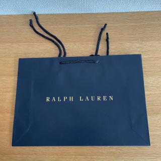 【未使用品】RALPH LAURENショップ袋(紙袋)