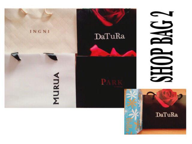 DaTuRa(小)ショップ袋